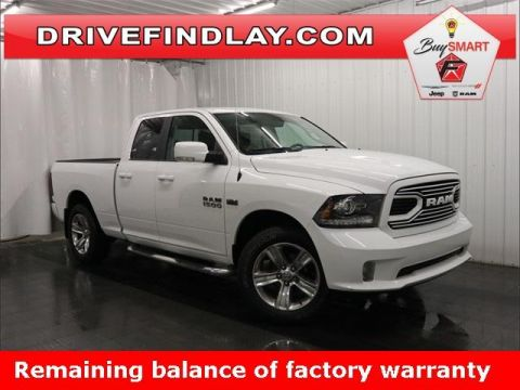 2018 Ram 1500 Sport 4x4 Quad Cab 6'4 Box *Ltd Av